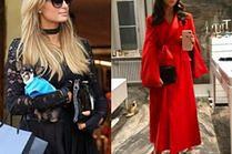 Eleganckie torebki lakierowane w stylizacjach celebrytek