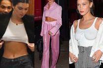 Półnagie top modelki imprezują w Nowym Jorku