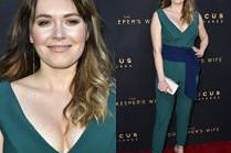 Magda Lamparska na czerwonym dywanie w Hollywood