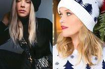 Modne czapki w stylizacjach celebrytek