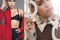 Miley Cyrus pokazuje piersi w eleganckiej sesji...