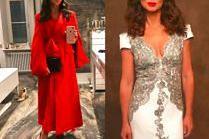 Kinga Rusin chwali się sukienkami z imprezy TVN-u