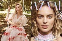 """Margot Robbie walczy o Oscara na okładce """"Harper's Bazaar"""""""