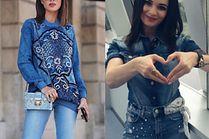 Jak nosić total denim look? 5 inspiracji