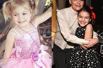 Sukienki balowe dla dziewczynek - jakie wybierają słynne mamy?