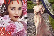 "Emilia Clarke w bajkowej sesji dla ""Harper's Bazaar"""