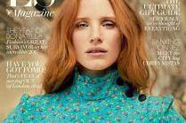 """40-letnia Jessica Chastain na okładce """"ES Magazine"""""""