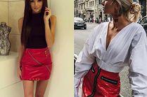 Najpiękniejsze czerwone spódnice - 5 propozycji