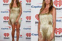 44-letnia Heidi Klum w złotych frędzlach