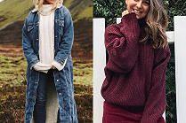 Modne swetry to hit jesieni. Jak noszą je gwiazdy?