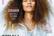 """Zendaya na okładce """"Fashion Magazine"""""""
