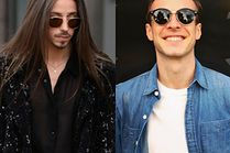 Modne okrągłe okulary - jakie wybierają celebryci?