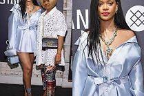 Rihanna promuje skarpety u boku mamy