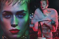 """Katy Perry pozuje w deszczu dla """"W Magazine"""""""