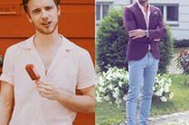 Różowa koszula w stylizacjach celebrytów