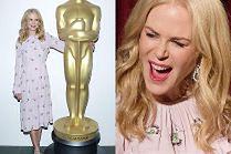 Nicole Kidman pozuje z gigantycznym Oscarem