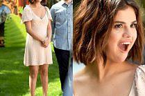 Urocza Selena Gomez promuje nowy film