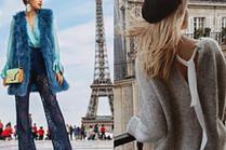 Paryski szyk w wydaniu celebrytek - najmodniejsze stylizacje
