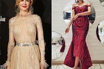 Najpiękniejsze sukienki midi w stylizacjach celebrytek