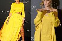 Gwiazdy świętują premierę kosmetyków: Rihanna czy Gigi Hadid?
