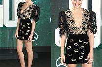 Gal Gadot pozuje w kusej sukience w buziaczki