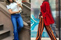 Jakie spodnie bootcut wybierają gwiazdy?