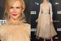 Dziewczęca Nicole Kidman na premierze serialu