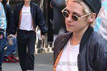 Wyluzowana Kristen Stewart na spacerze z dziewczyną