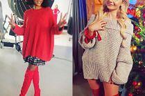 Stylizacje z długimi swetrami - 5 inspiracji
