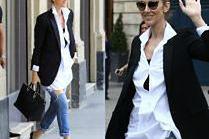 #TRENDY: Celine Dion w dziurawych dżinsach