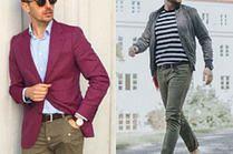 Modne spodnie khaki w stylizacjach celebrytów