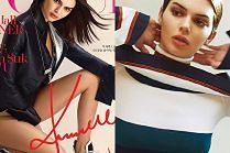 """Nowe usta Kendall Jenner debiutują na okładce """"Vogue'a"""""""