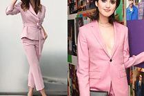 Garnitury damskie w kolorze jasnego różu - 5 propozycji