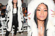 Nicki Minaj w futrze z lisów za 85 tysięcy złotych