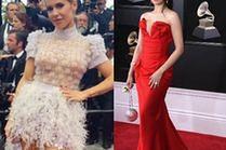 Najciekawsze sukienki z trenem - 5 propozycji gwiazd