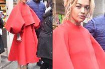 Rita Ora cierpi dla mody w Paryżu