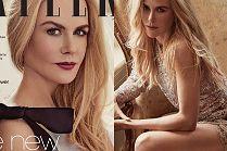 "Kusząca Nicole Kidman na okładce ""Tatler"""