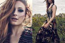 """Gwiazda """"Gry o tron"""" pozuje w stylizacjach od Louis Vuitton"""