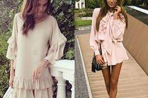 Z czym celebrytki noszą pastelowe sukienki?
