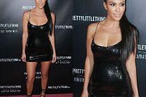 Rozebrana Kourtney Kardashian promuje swoją markę