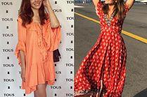 Zwiewne sukienki w letnich stylizacjach celebrytek