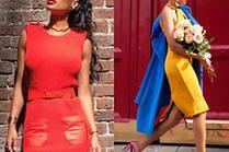 Jakie sukienki etui noszą celebrytki?