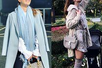 Jakie szare torebki noszą celebrytki?