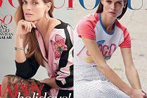 """Małgorzata Bela na trzech okładkach """"Vogue'a"""""""