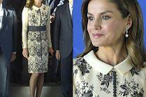 Królowa Letizia w swojej ulubionej sukience
