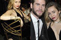 Elegancka Miley Cyrus wspiera męża (!) na ekskluzywnym bankiecie