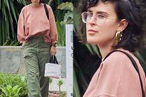 Zasmucona córka Demi Moore nerwowo wyczekuje Ubera