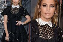 Jennifer Lopez promuje świąteczny film w stroju wyuzdanej pokojówki