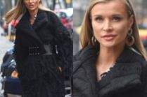 """Zjawiskowa Joanna Krupa promuje finał """"Top Model"""" w wełnianym płaszczu"""