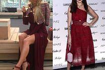 Eleganckie bordowe sukienki - jakie wybierają gwiazdy?